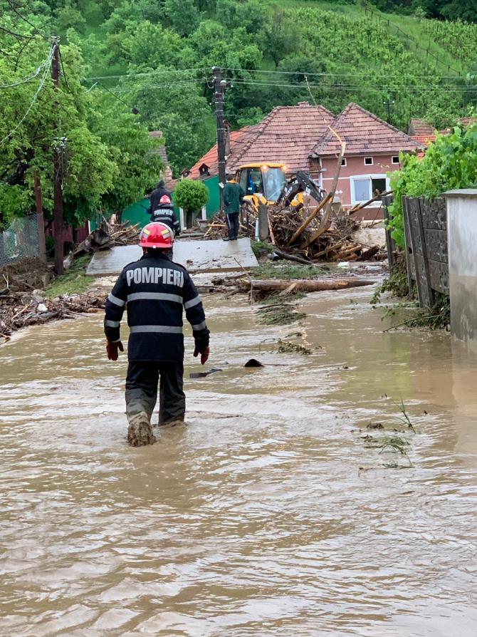 Inundatii. Foto cu caracter ilustrativ