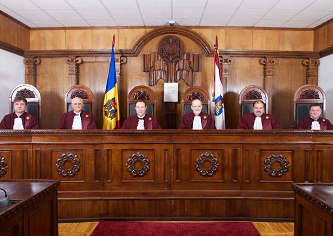 Judecatori CCR - Republica Moldova