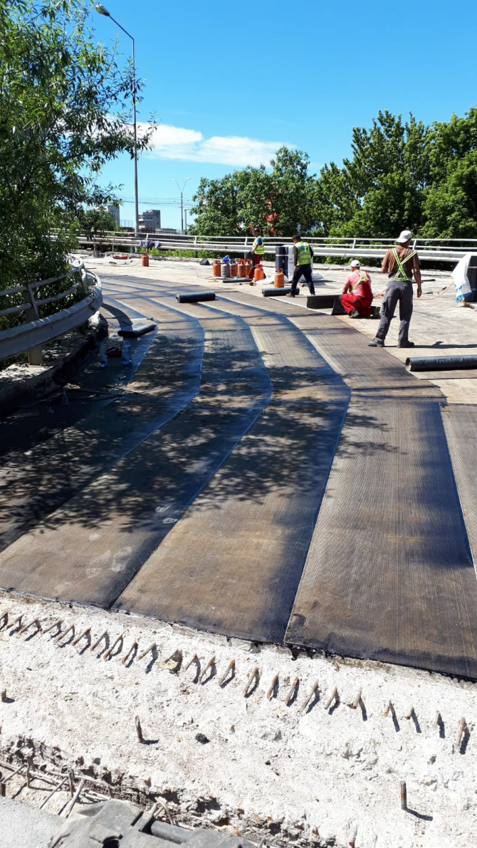 Podul Grant - lucrari