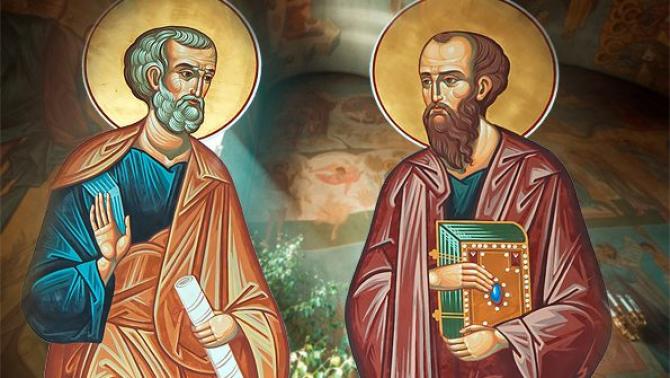 Sfinții Petru și Pavel, sărbătoare mare pe 29 iunie