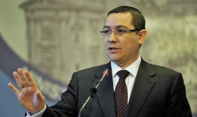 Victor Ponta, condiție pentru votarea Legii Pensiilor