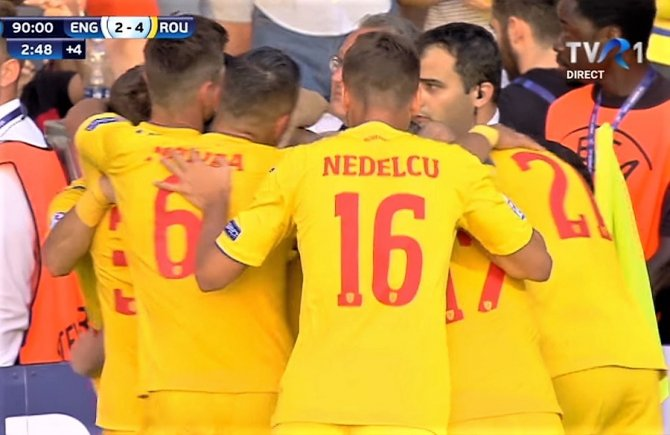 România 4-2 cu Anglia. Istoria unei victorii senzaționale la Campionatul European Under-21