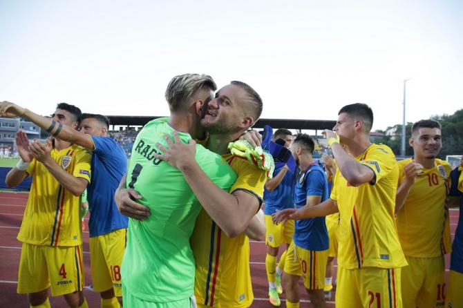 Romania - Croatia, victorie pentru tricolori! foto: FRF