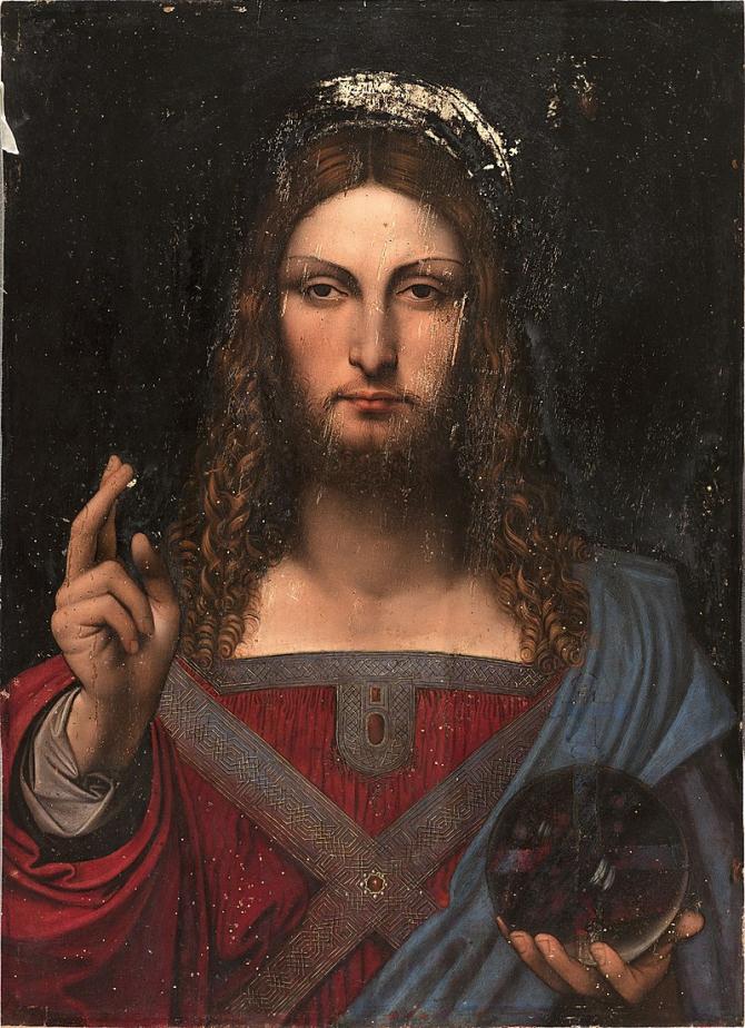 Salvador mundi, cel mai scum tablou vândut vreodată