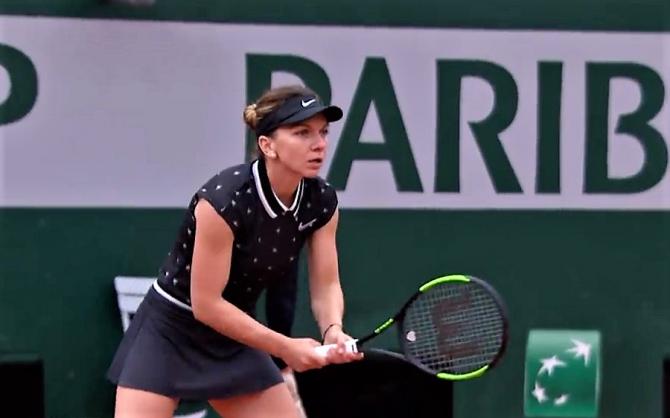Simona Halep - record egalat în optimi Roland Garros 2019