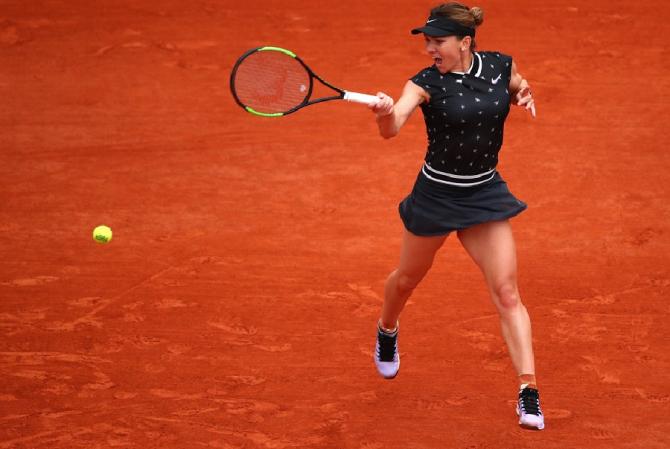 Roland Garros: Simona Halep - Iga Swiatek | Rezultat pentru calificarea în sferturile de finală. foto: @WilsonTennis - Twitter