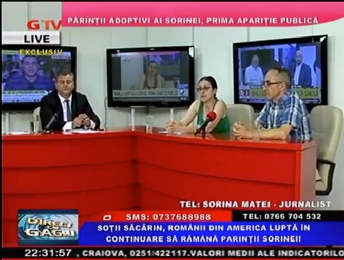 Sorina-Matei-în-direct-la-GTV-cu-familia-adoptivă-a-Sorinei
