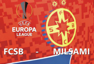 Europa League: Milsami Orhei - FCSB, rezultat Live text