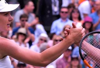 Simona Halep va prezenta trofeul de la Wimbledon, pe Arena Naţională