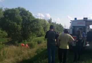 Fetiță înecată la Mediaș. FOTO: Ambulanța Sibiu