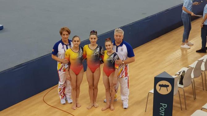 FOTO: Facebook / Federația Română de Gimnastică
