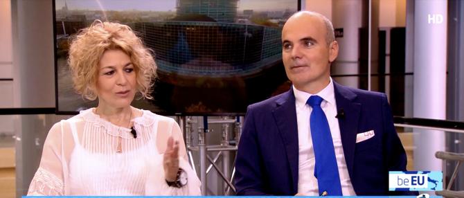 Carmen Avram și Rareș Bogdan