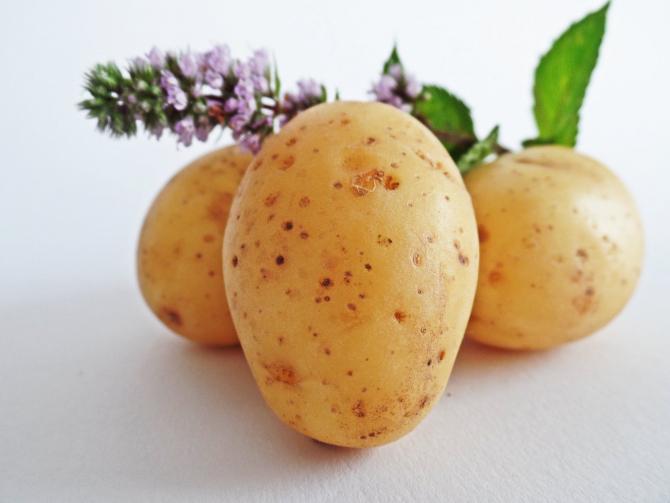 Dieta cu cartofi fierți