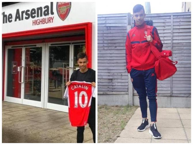 Transfer de marcă în Anglia: Arsenal are un număr 10 din România