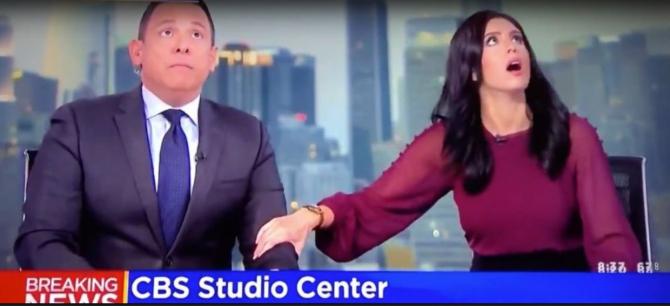 Prezentatori TV, reacție la cutremur