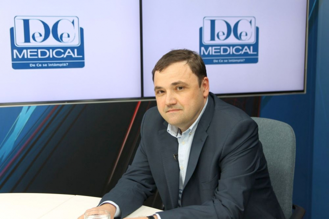 Dr Dan Jinga, oncolog, va vorbi despre eficiența Imunoterapiei. Foto: DC Medical