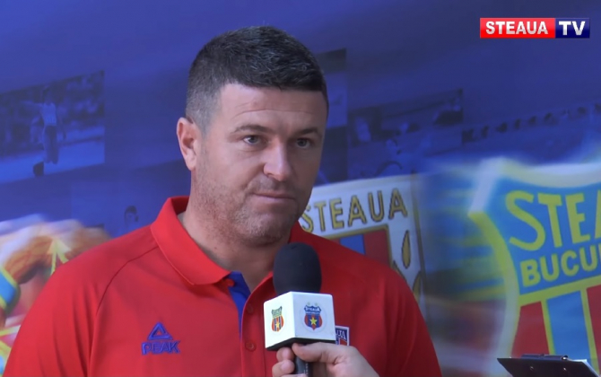 CSA Steaua are, oficial, un nou antrenor. A semnat astăzi