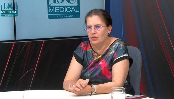 Dr Carmen Gherghinescu, medic primar cardiolog. Foto: DC NEWS
