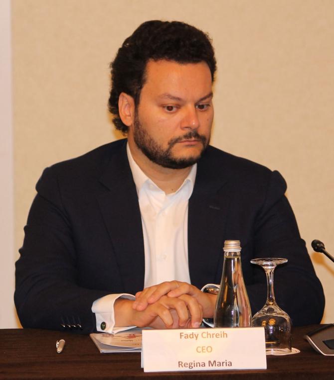 Health România. Fady Chreih, CEO al Regina Maria