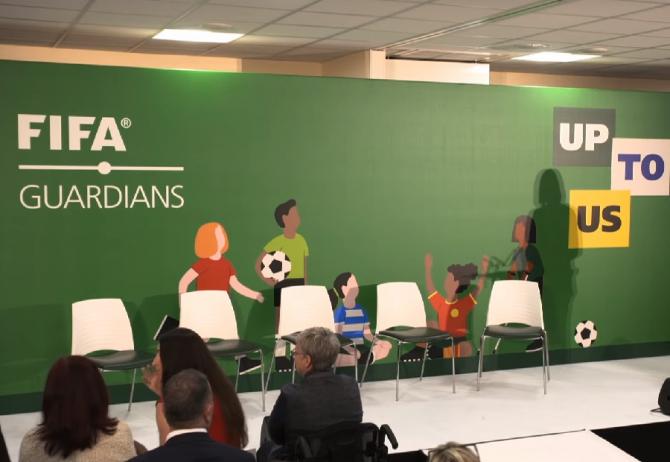 A fost lansat FIFA Guardians, un program de protecţie a minorilor