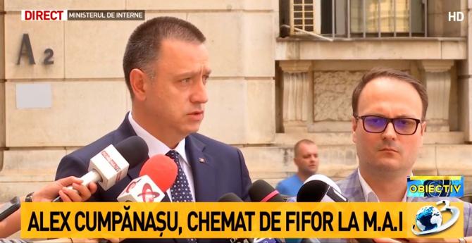 Mihai Fifor și Alexandru Cumpănașu