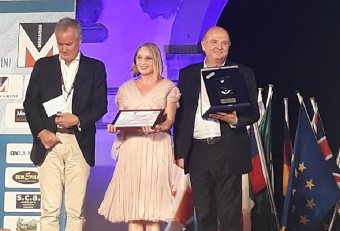 Gabriela Szabo a primit premiul Fair Play - Model de viaţă şi titulatura de Ambasador Internaţional Fair Play