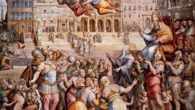 Cauzele de natură politică, dar și dogmatică au dus la Marea schismă din 1054