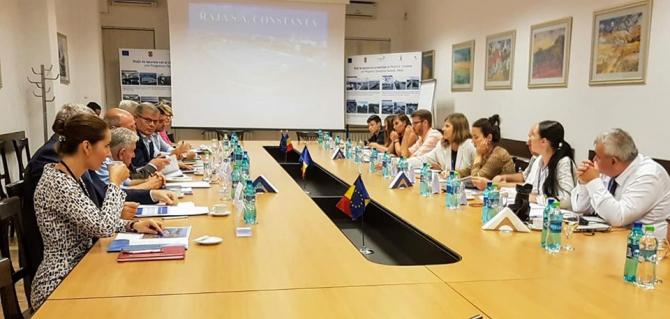 Echipa RAJA Constanța, alături de delegația de jurnaliști