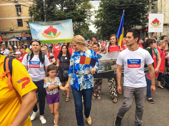 Ramona Ioana Bruynseels, candidat la prezidențiale 2019. Sursă foto: Facebook Ramona Ioana Bruynseels