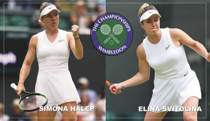 Simona Halep - Elina Svitolina rezultat WIMBLEDON 2019 in semifinale