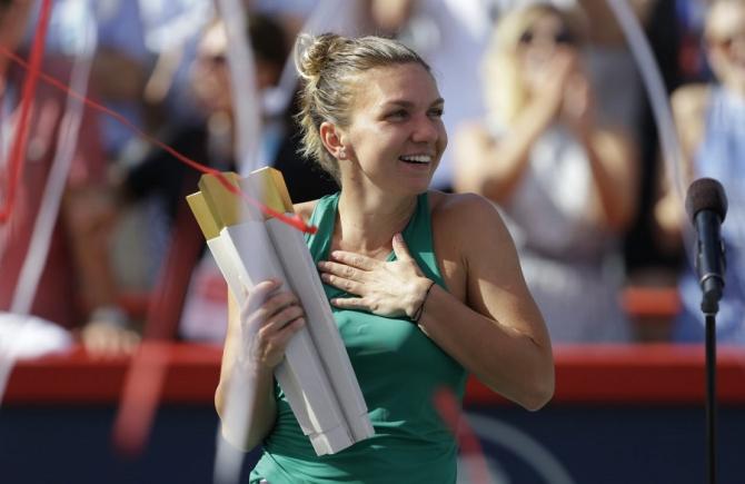 """Simona Halep, favorita canadienilor la Rogers Cup! """"Avem şansa să vedem același joc superb de la Wimbledon"""" - foto: @RogersCup - FB"""