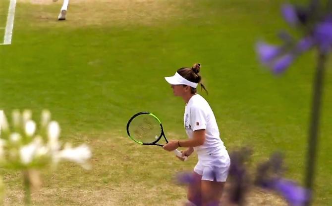 """Secretul Simonei pe iarba Wimbledonului: """"Cred că am început să iubesc..."""""""