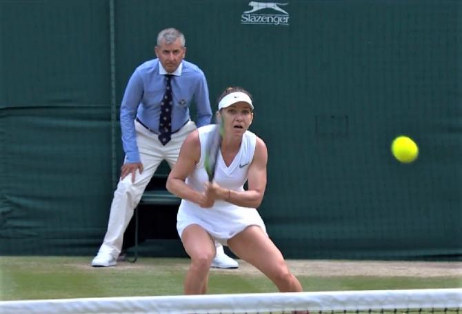 Simona Halep, lovitură chiar înainte de finala de la Wimbledon