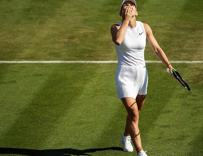 Simona Halep rezultat Wimbledon