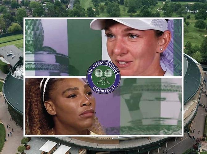 Serena Williams vs Simona Halep RIVALITATE de 10. Galerie VIDEO: Cronologia meciurilor