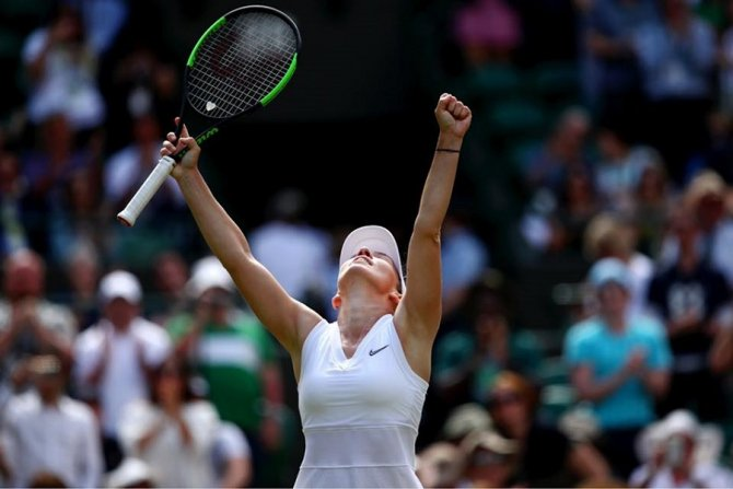 Presa internațională, despre succesul categoric al Simonei Halep la Wimbledon, în turul trei