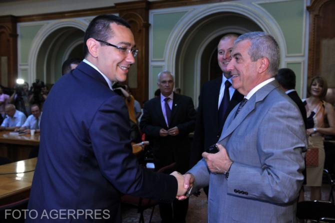 Victor Ponta și Călin Popescu-Tăriceanu