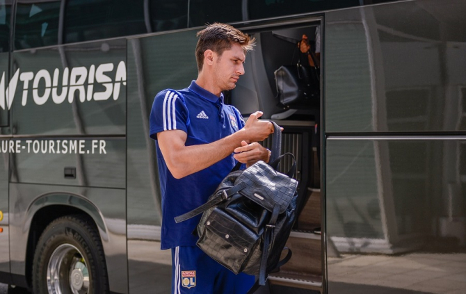 Ciprian Tătărușanu, Olympique Lyon. foto: @olympiquelyonnais - FB