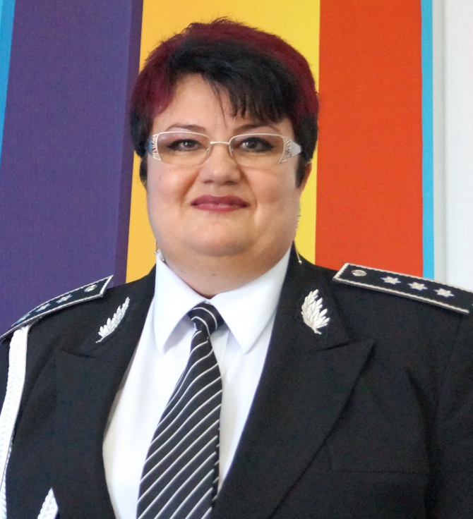Veronica Stoica, noul rector al Academiei de Poliție Alexandru Ioan Cuza