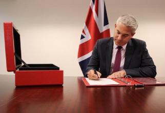 Ministrul pentru Brexit, Steve Barclay