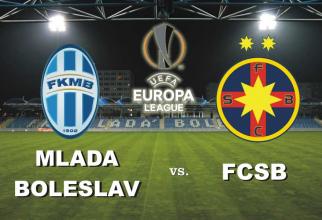 Mlada Boleslav - FCSB . Rezultat în Europa League