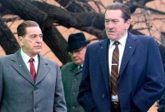 Robert de Niro și Al Pacino în producția lui Martin Scorsese