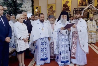 Premierul Viorica Dăncila la hramul Mănăstirii Putnna