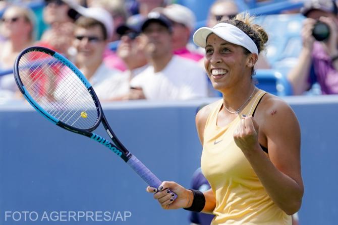 Madison Keys, în Top 10, după cîștigarea turneului  de la Cincinnati