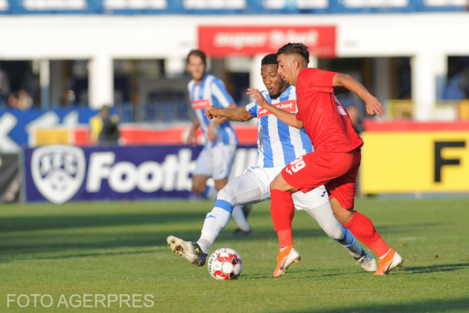 CSM Politehnica Iasi - AFC Chindia Targoviste, scor 2 - 2