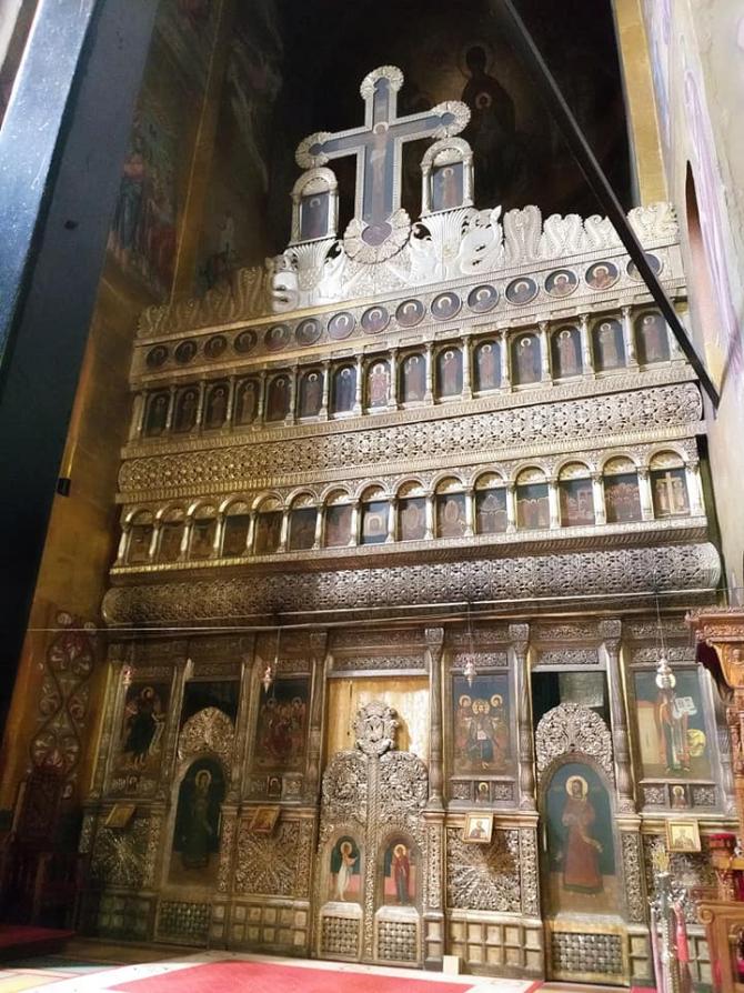 Altar Catedrala Ortodoxă Cluj - arhiva DC News - imagine cu caracter ilustrativ