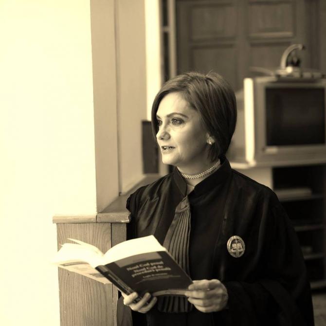 Judecător Adriana Stoicescu FOTO: Facebook Adriana Stoicescu