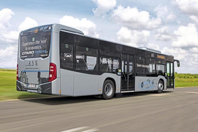130 de autobuze Mercedes-Benz Citaro Hybrid vor circula pe strazile Capitalei