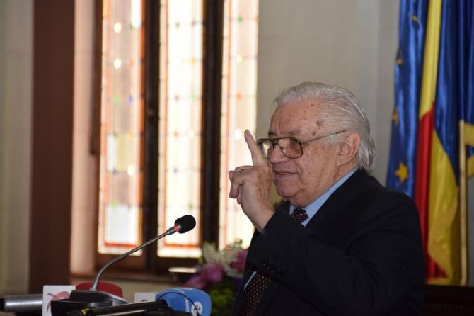 Nicolae Breban la Academia Română. foto: @AcademiaRomana.RomanianAcademy - FB
