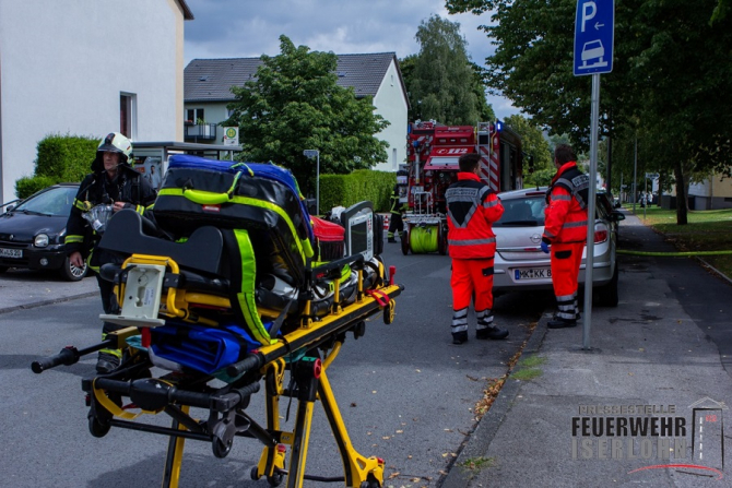 Crime Iserlohn. foto: Feuerwehr Iserlohn @FWIserlohn - FB